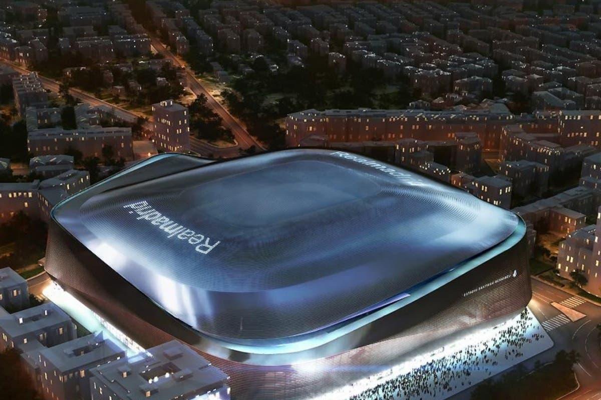 El nuevo Bernabéu tendrá una cubierta retráctil