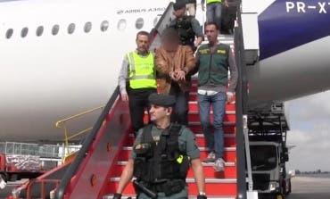 El presunto asesino de Pioz llega a España