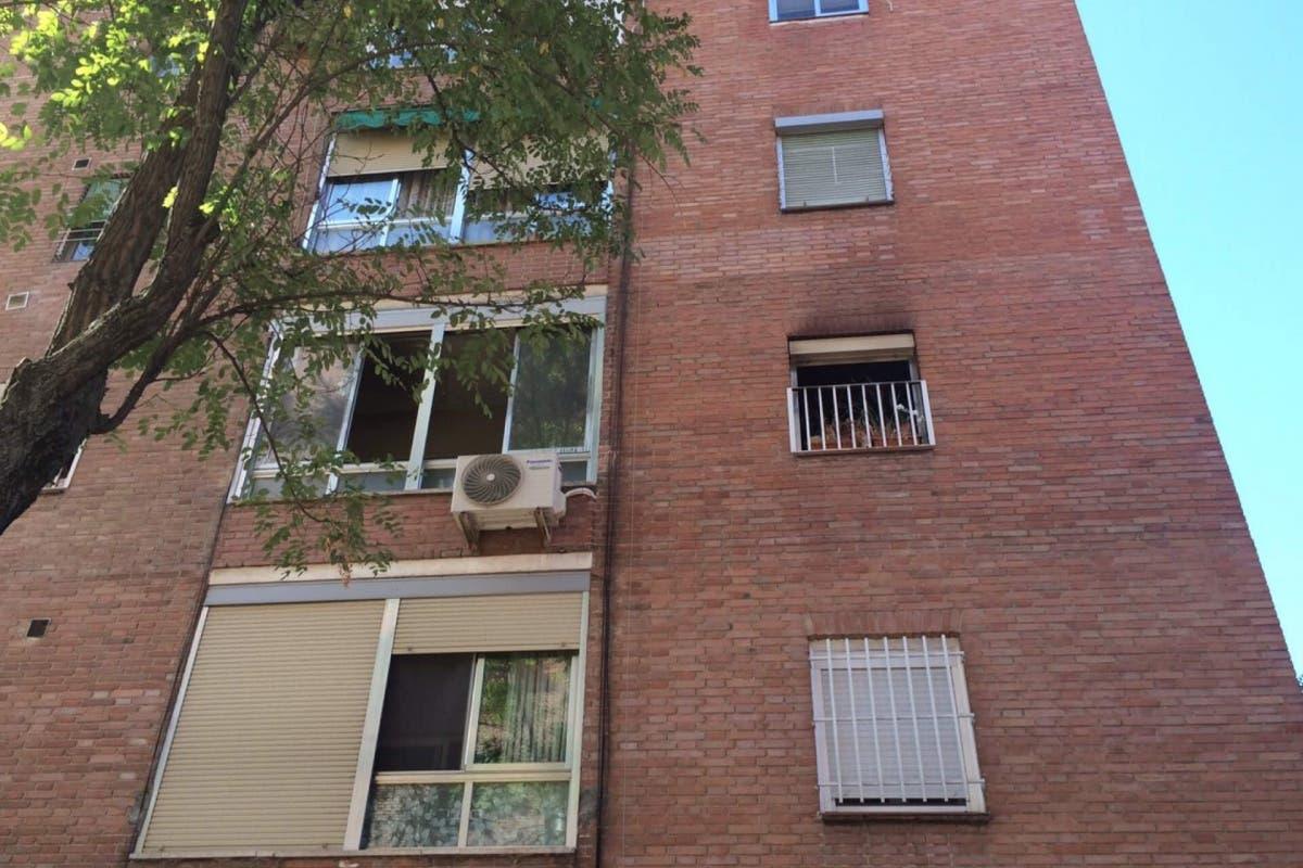 Fallece una mujer en el incendio de su vivienda en Madrid