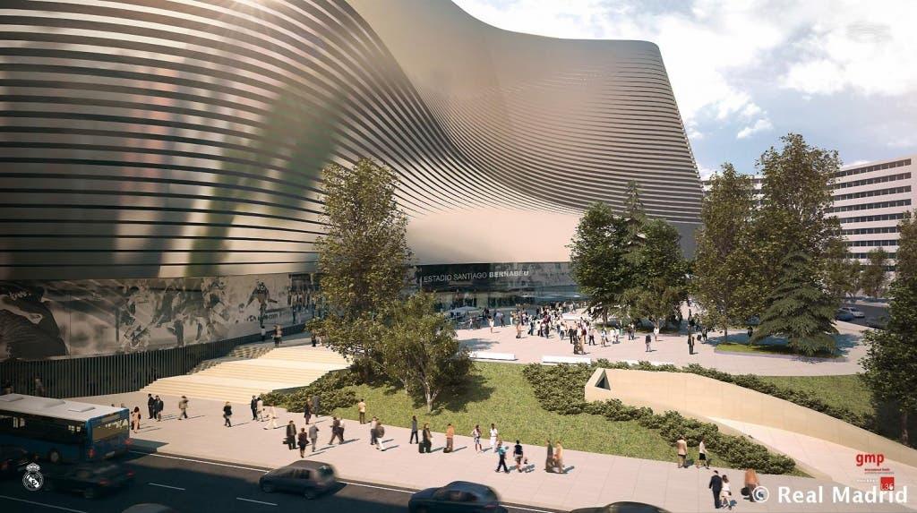 Imagen del futuro Bernabéu 1.