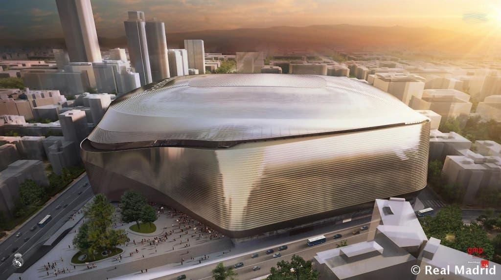 Imagen del futuro Bernabéu 2.