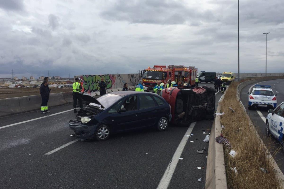 Nuevo accidente mortal en Madrid