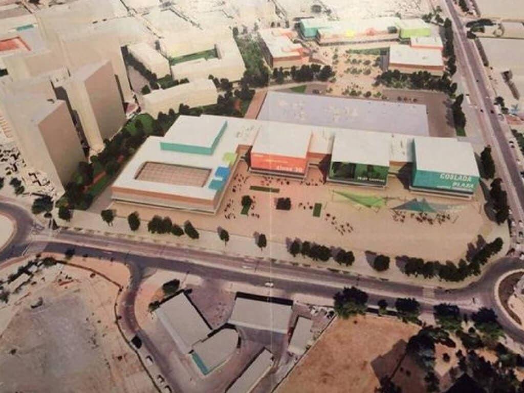Comienzan las obras del nuevo centro comercial Garaeta en Coslada