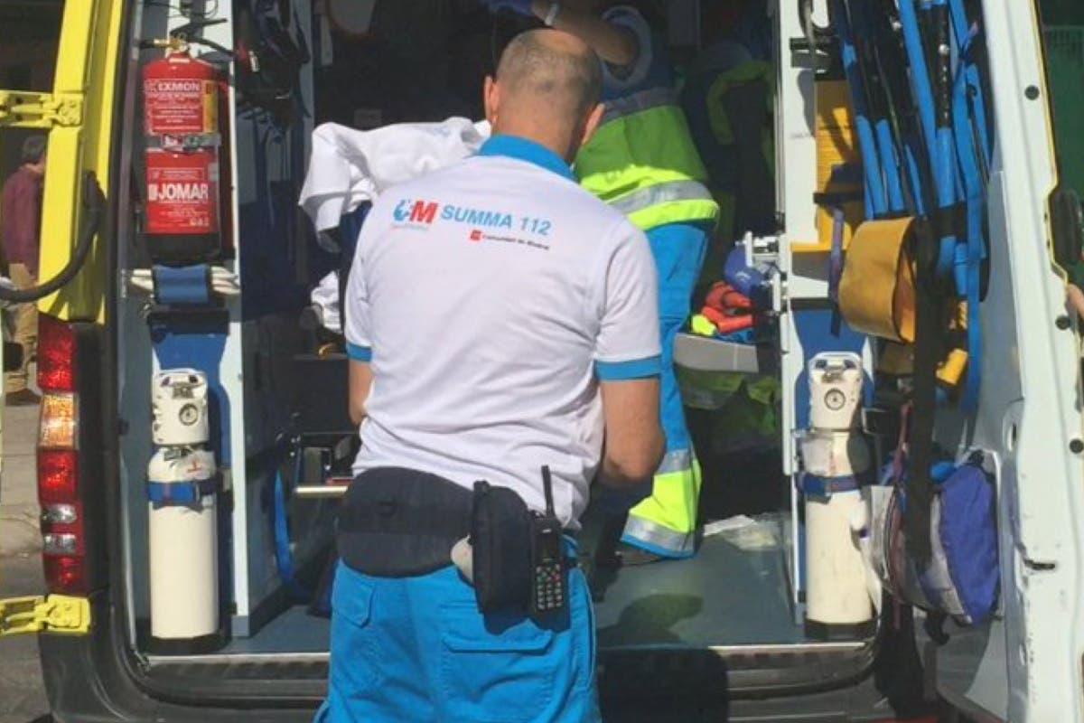 Herido grave un trabajador de 27 años tras precipitarse desde 10 metros de altura
