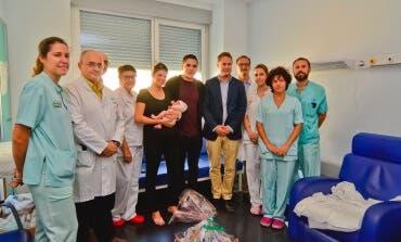 El Hospital de Torrejón celebra el parto 10.000
