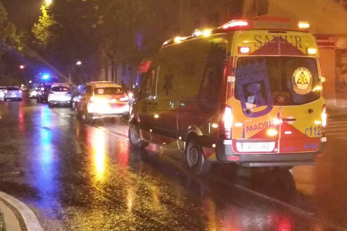 Muy grave un joven de 27 años tras ser atropellado en Vallecas