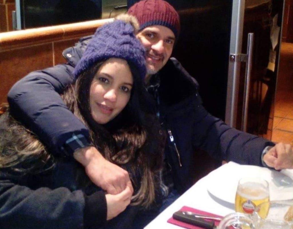 Marcos y Janaína, la pareja asesinada junto a sus hijos (Facebook)
