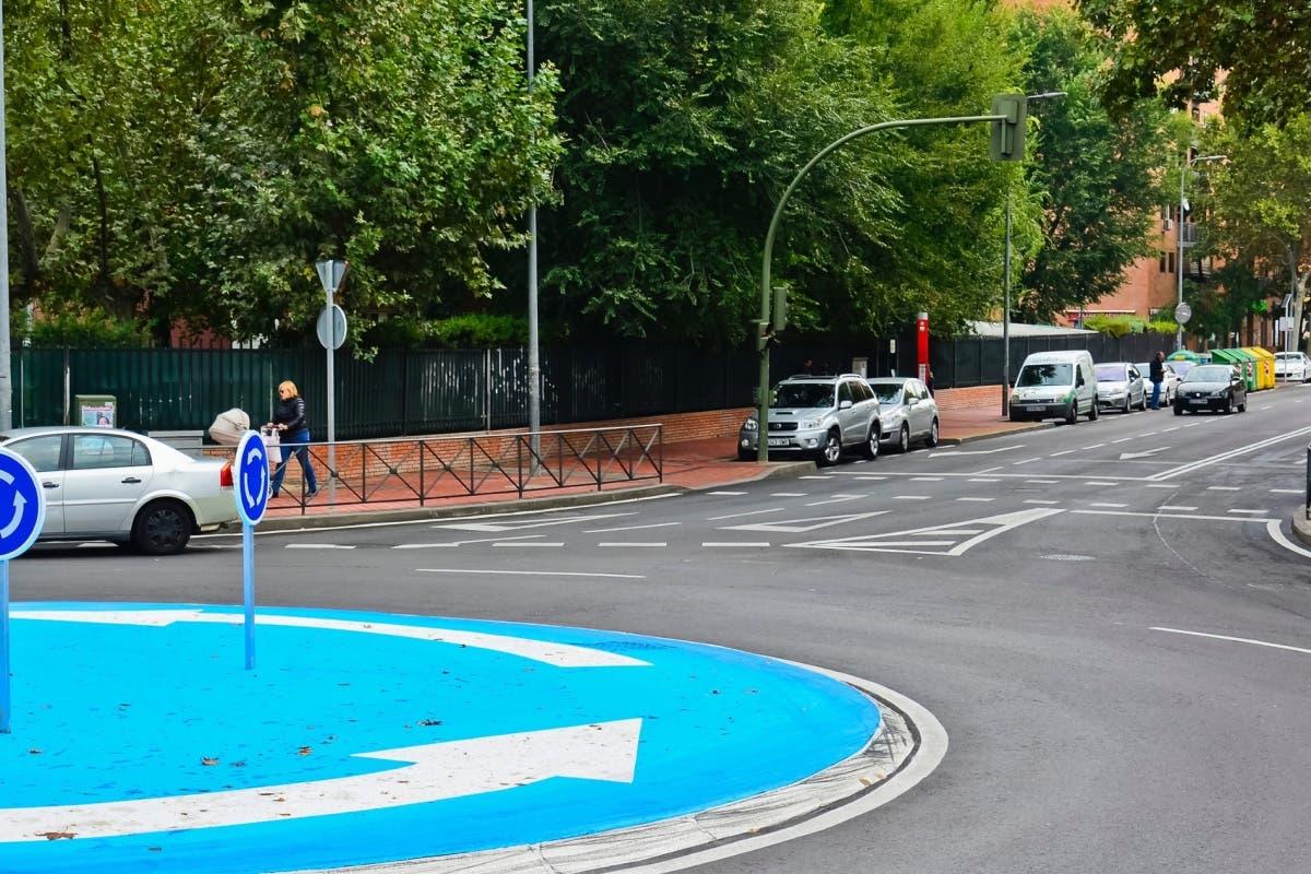 Cambios en la calle Solana de Torrejón que pasa de 2 a 3 carriles