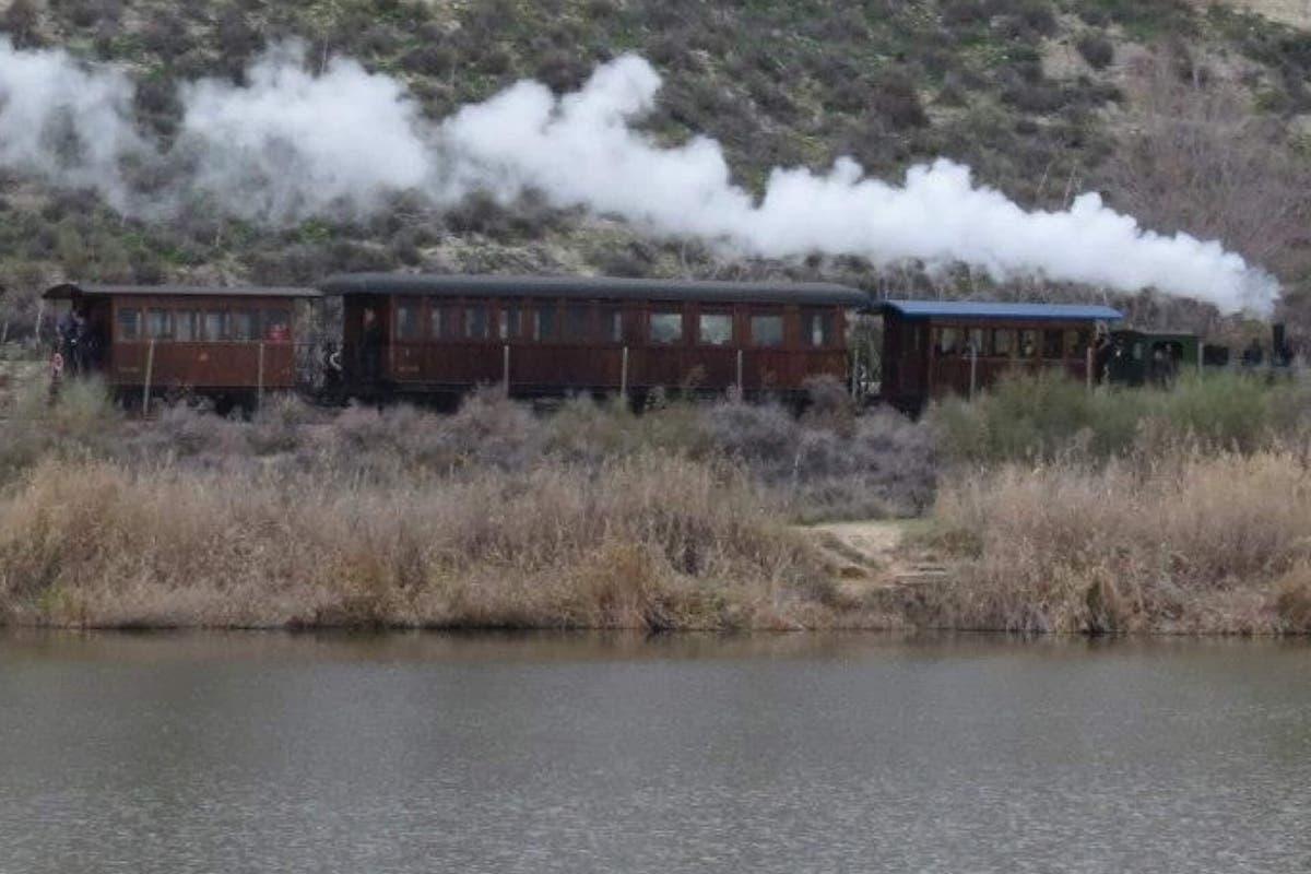 Nueva temporada de El Tren de Arganda, el que pita más que anda