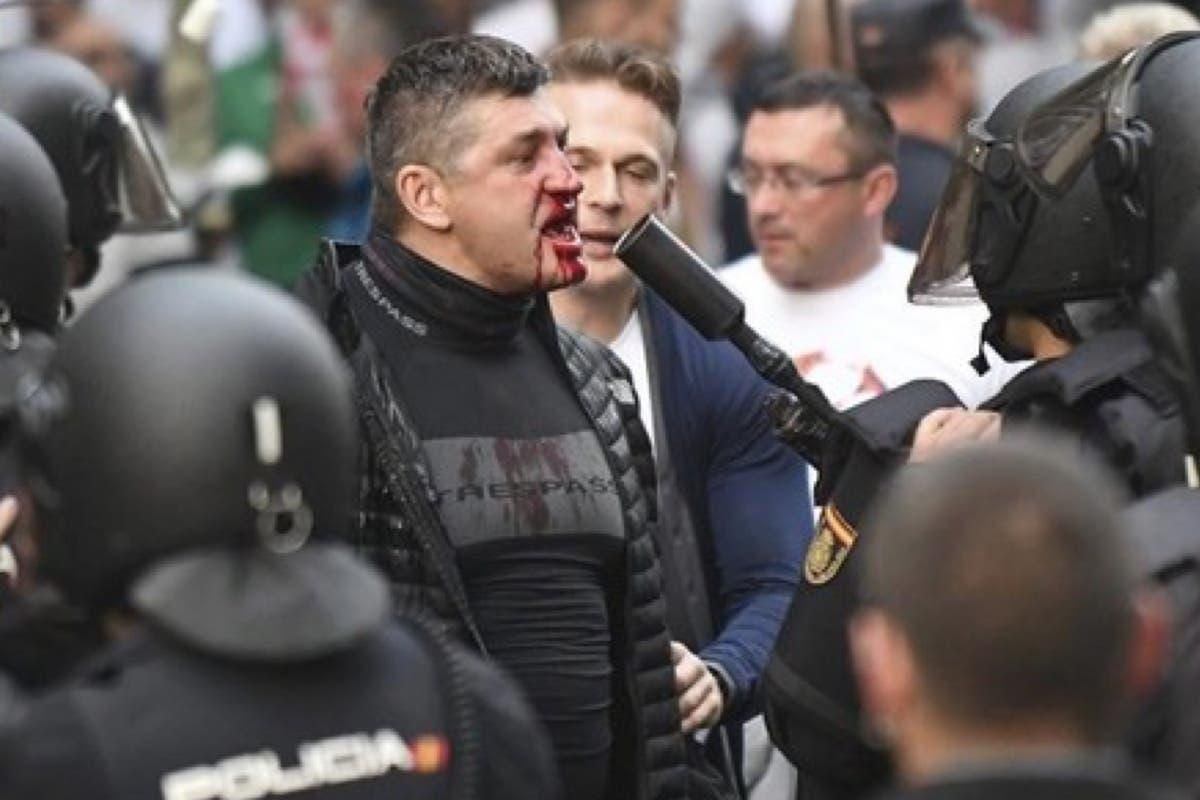 12 ultras polacos detenidos por los disturbios del Bernabéu