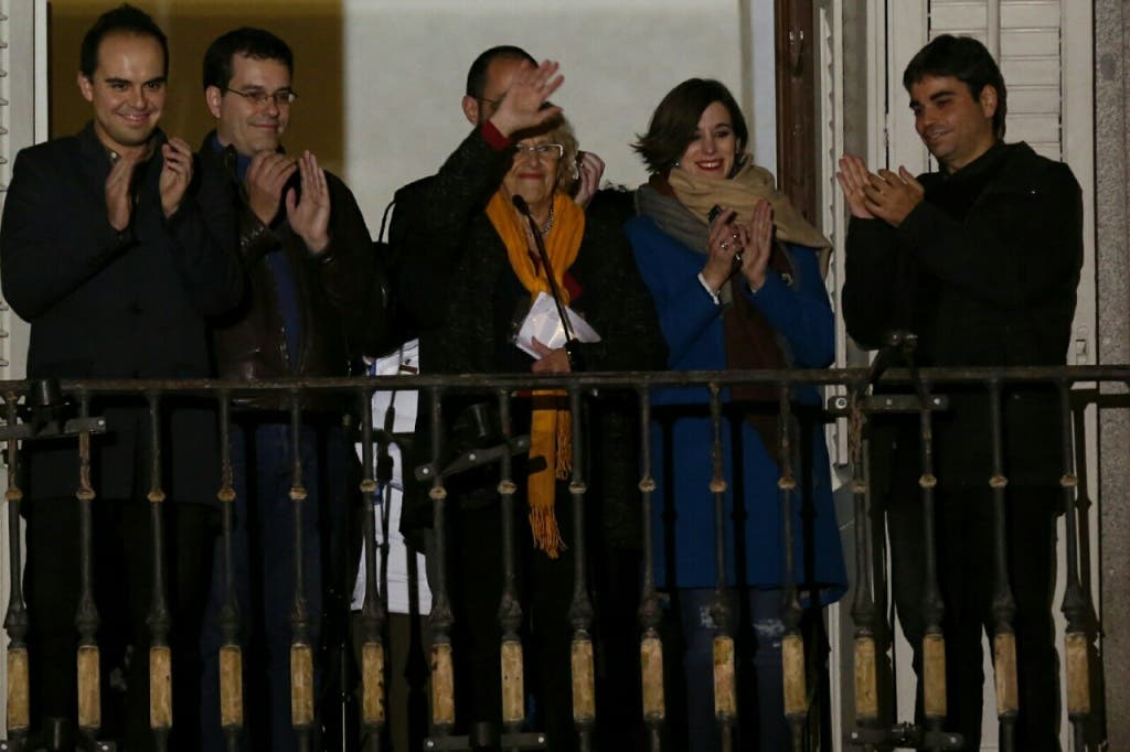 Carmena inaugura la Navidad en Madrid (Ayto.)