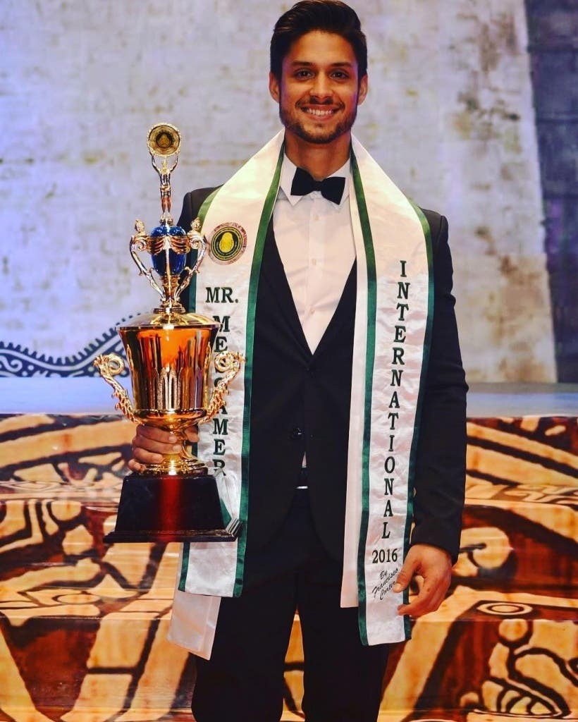 Alex Antequera, Mr. Mesoamérica Internacional 2016 (Organización).