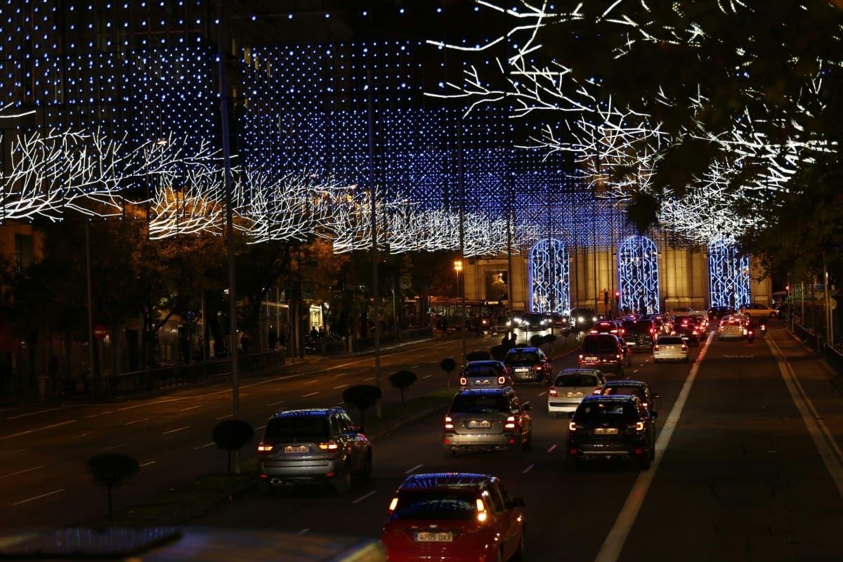 Madrid cierra al tráfico la Gran Vía y parte del centro por Navidad