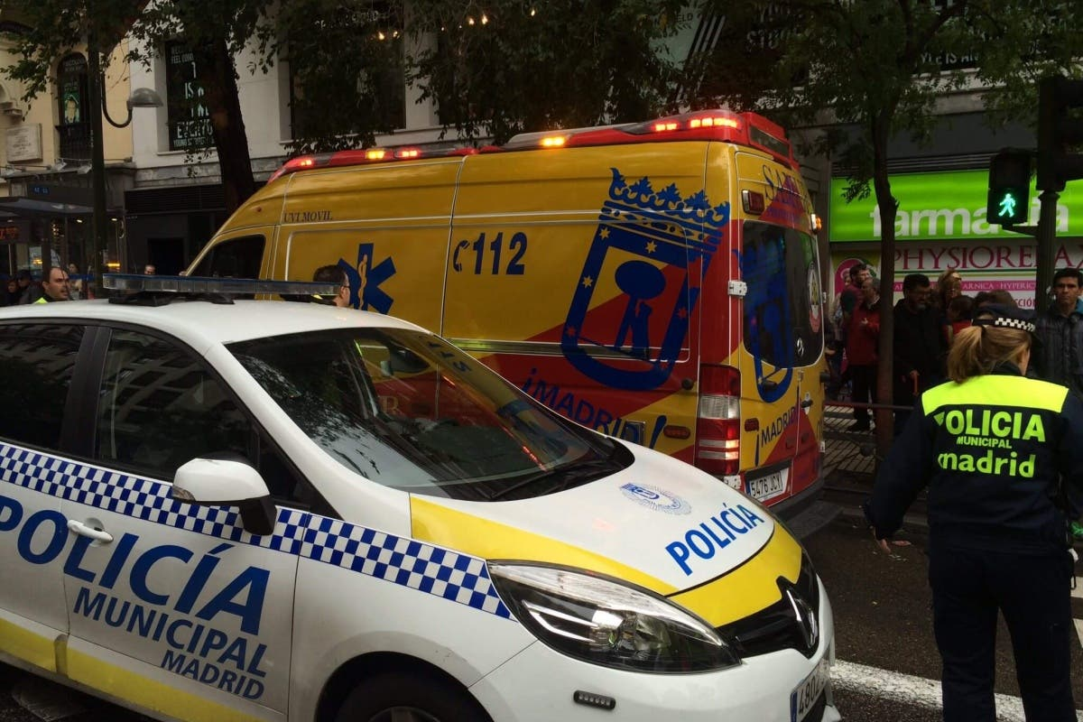 Atropello muy grave en la calle Alcalá de Madrid