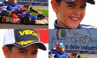 Un niño de Cabanillas gana el campeonato de karts de Cataluña
