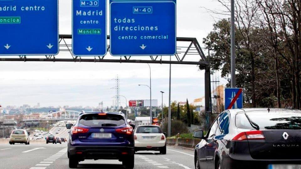 Reabre al tráfico el puente del nudo de la A-5 y la M-40