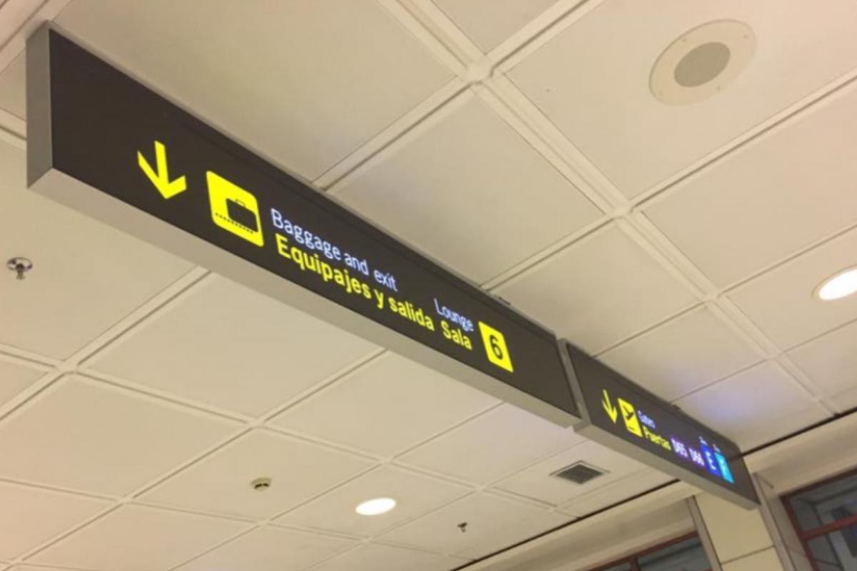 Detenido un yihadista en el aeropuerto de Barajas
