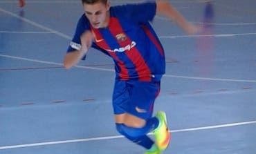 Dani, con solo 15 años y de Torrejón, cuenta su experiencia en el Barça