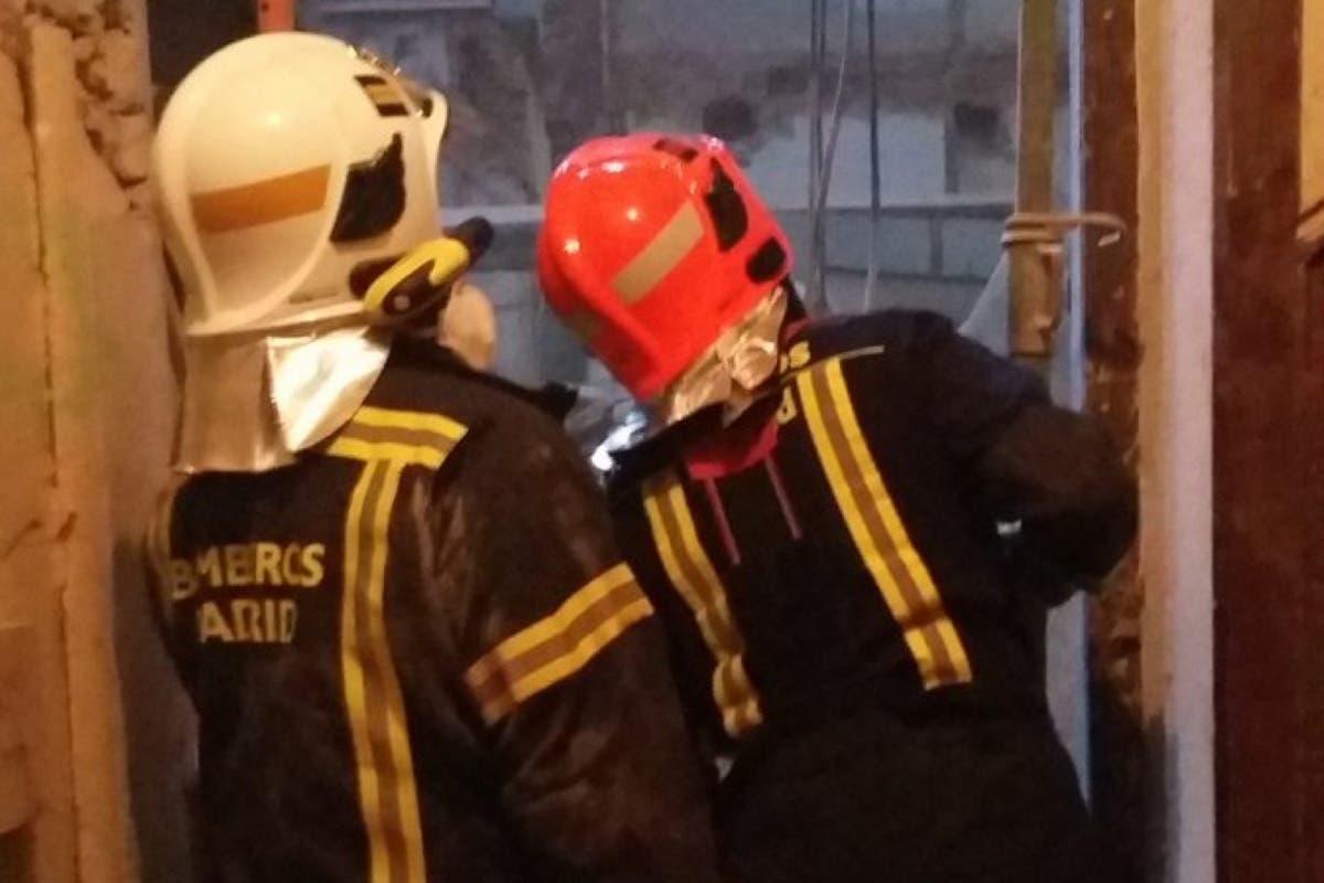 Muere un trabajador tras el derrumbe del forjado de un edificio en Madrid