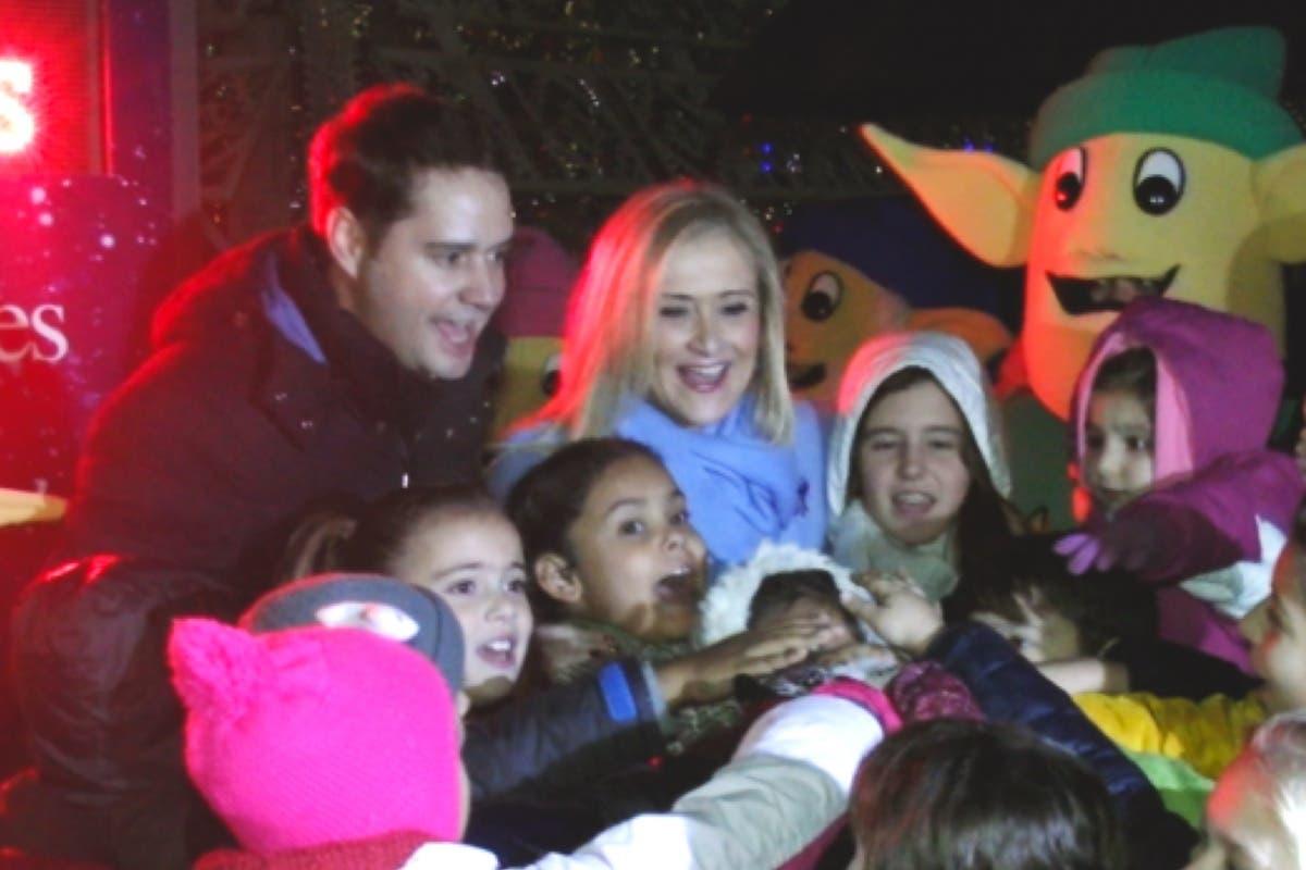 Así inauguró Torrejón sus Mágicas Navidades, que este año se superan