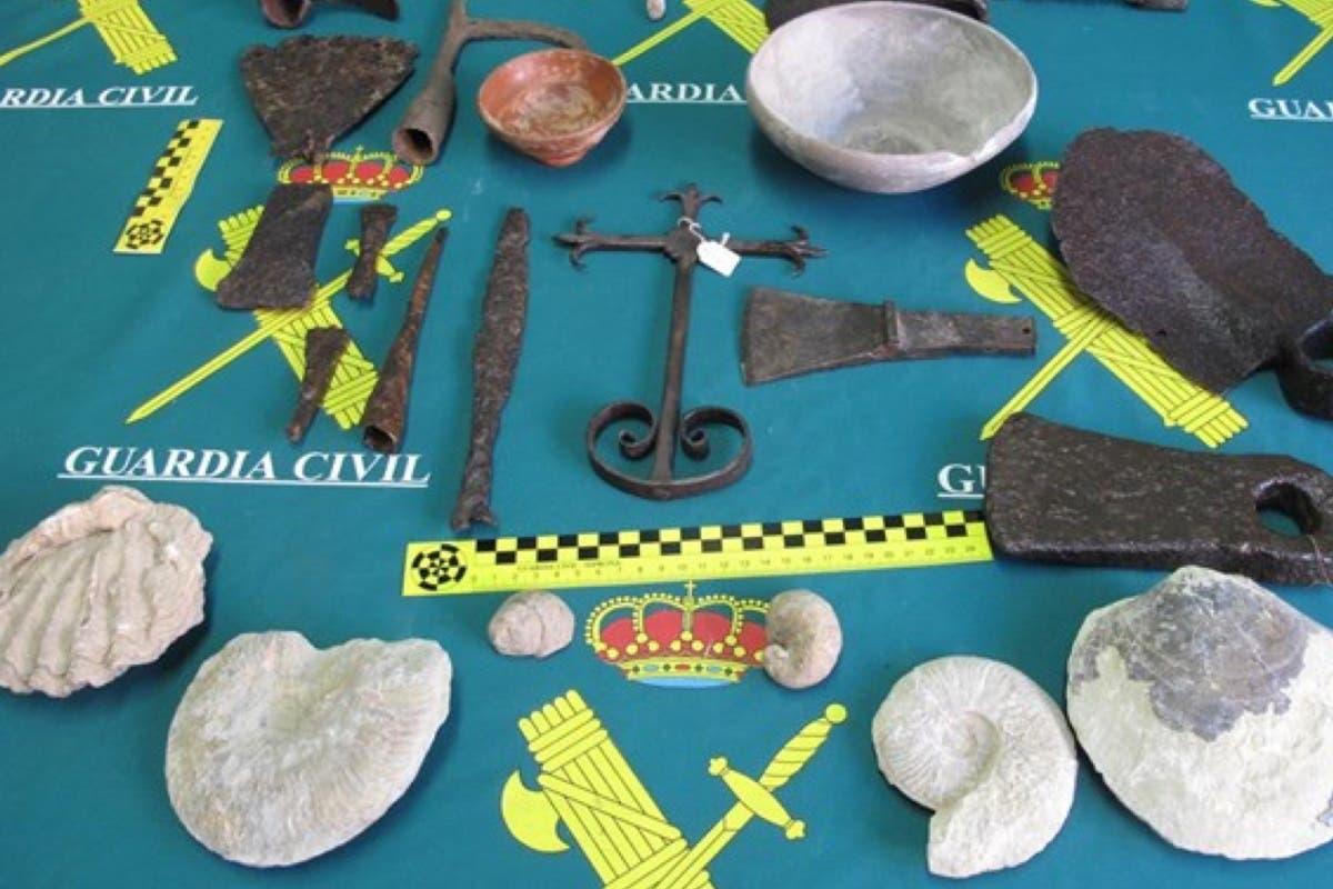 Un vecino de Guadalajara tenía en su poder 25 piezas de la época romana