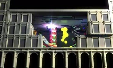 Así es la proyección en 3D que se puede ver en la Plaza Mayor de Madrid