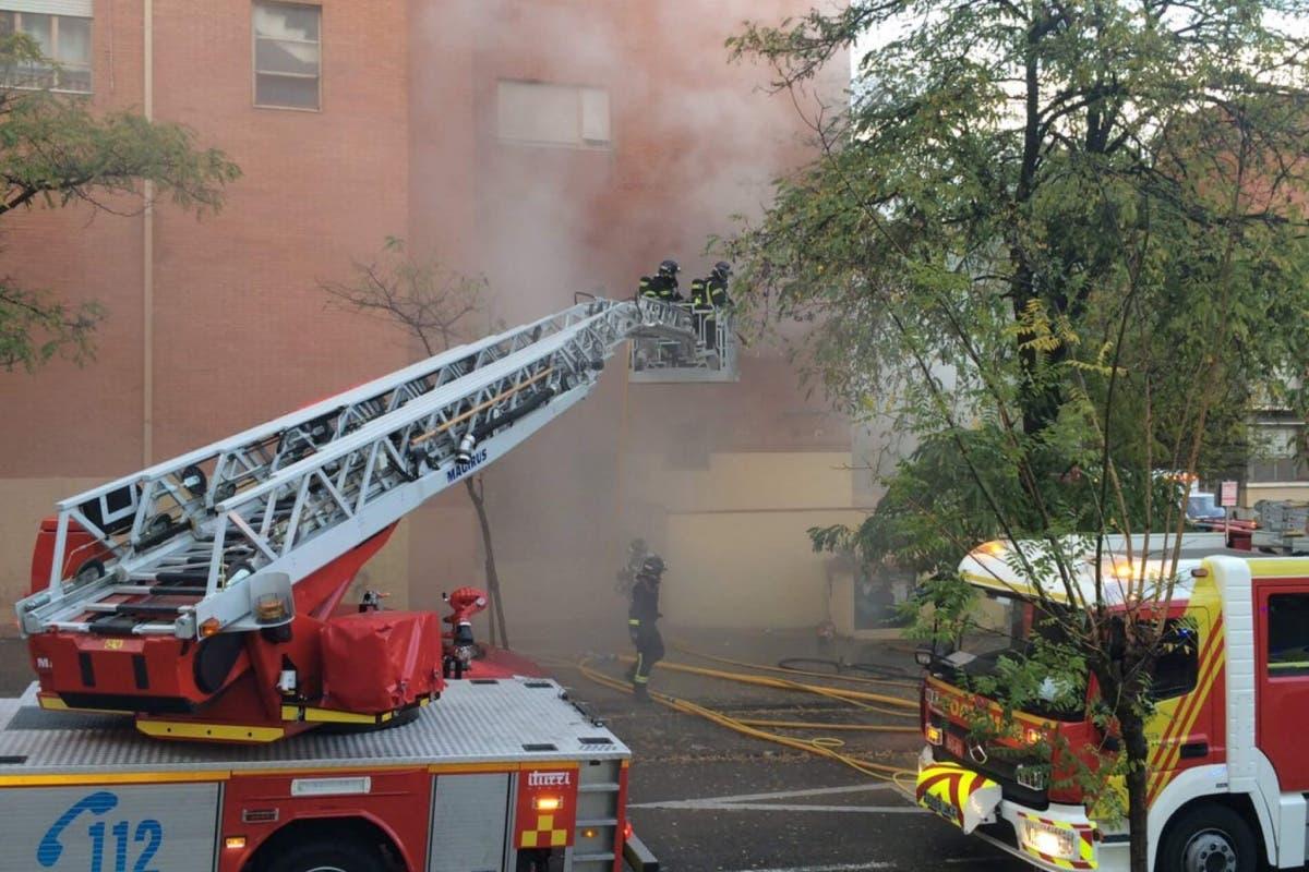 Incendio en una guardería de Vallecas sin heridos