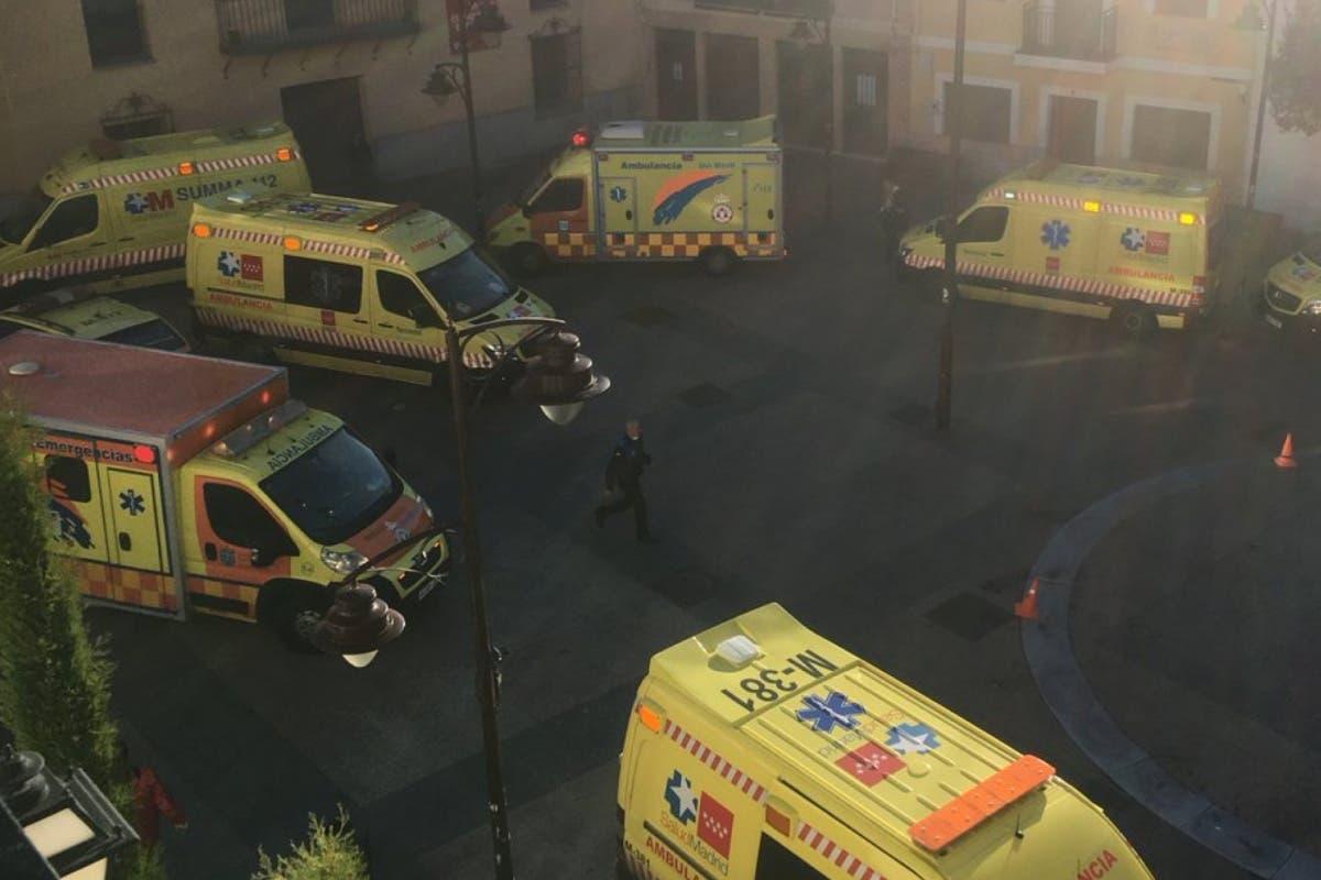 Un muerto y 40 evacuados en el incendio de una residencia de ancianos