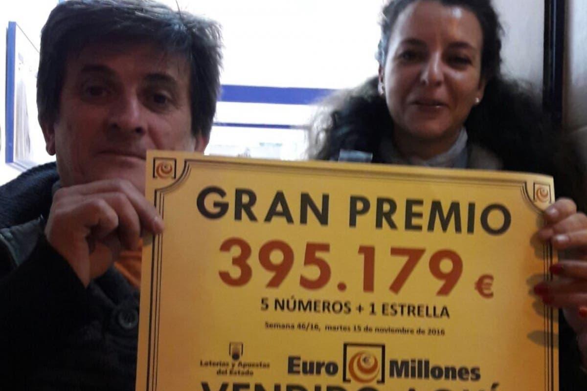 Carmela, la lotera de Alcalá que ha vendido el premio del Euromillones