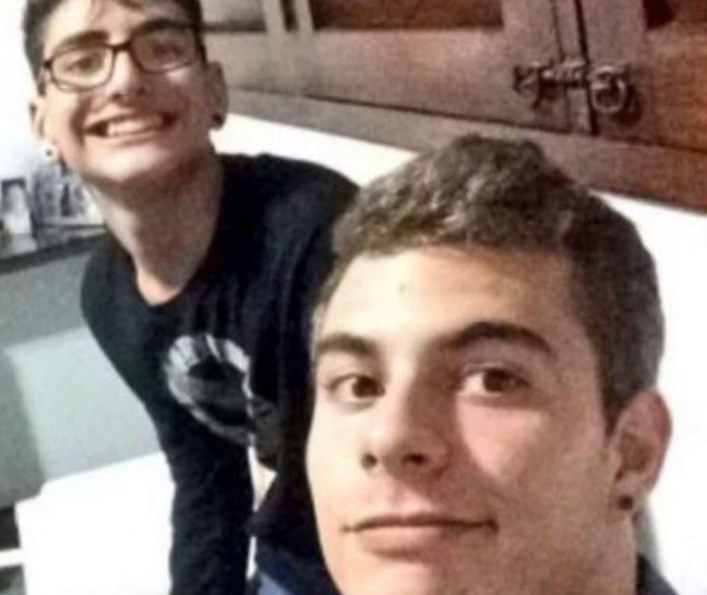Patrick junto a su amigo Marvin en una de las muchas fotos que compartían juntos en las redes sociales.