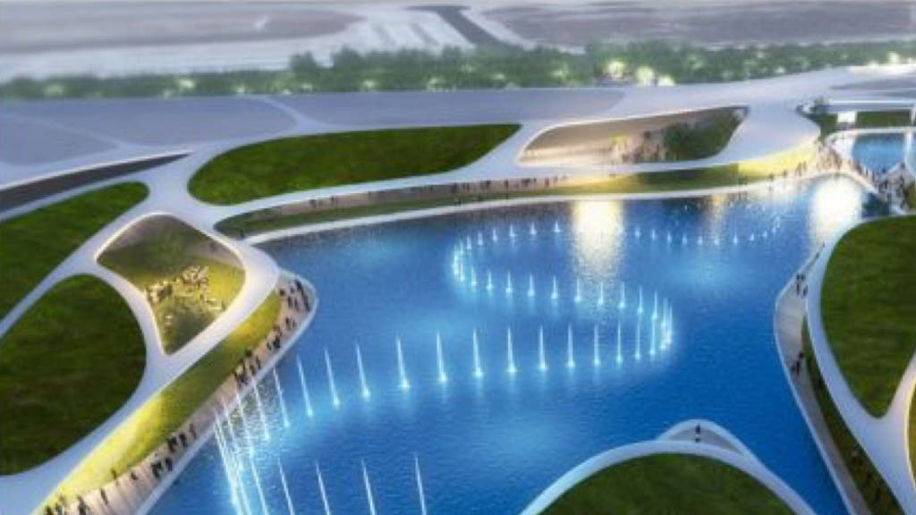 Infografía del nuevo centro comercial Open Sky, en Torrejón de Ardoz.