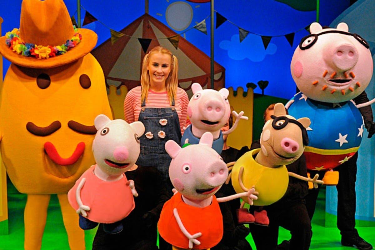 Llega a Madrid el mayor musical sobre Peppa Pig hecho hasta el momento