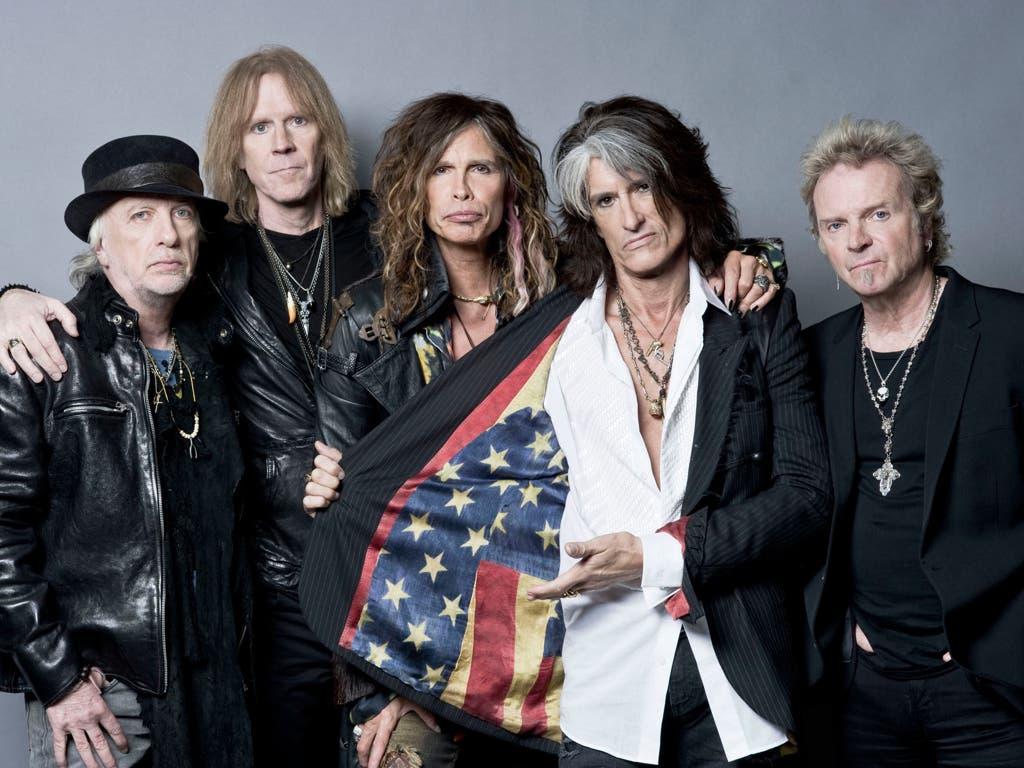 Aerosmith se despide con un concierto en Rivas Vaciamadrid