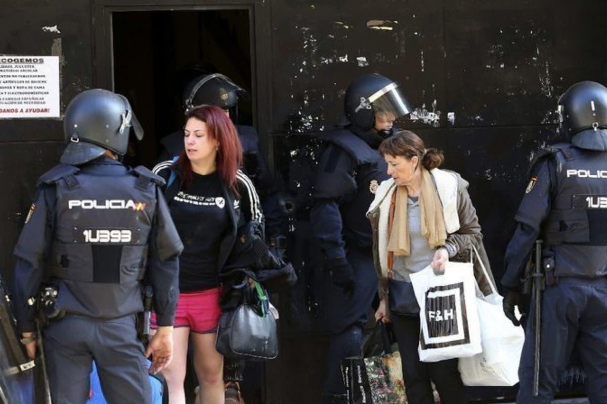 La Policía desaloja en Madrid al colectivo neonazi Hogar Social