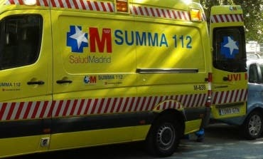 Un trabajador pierde parcialmente dos dedos de una mano en Madrid