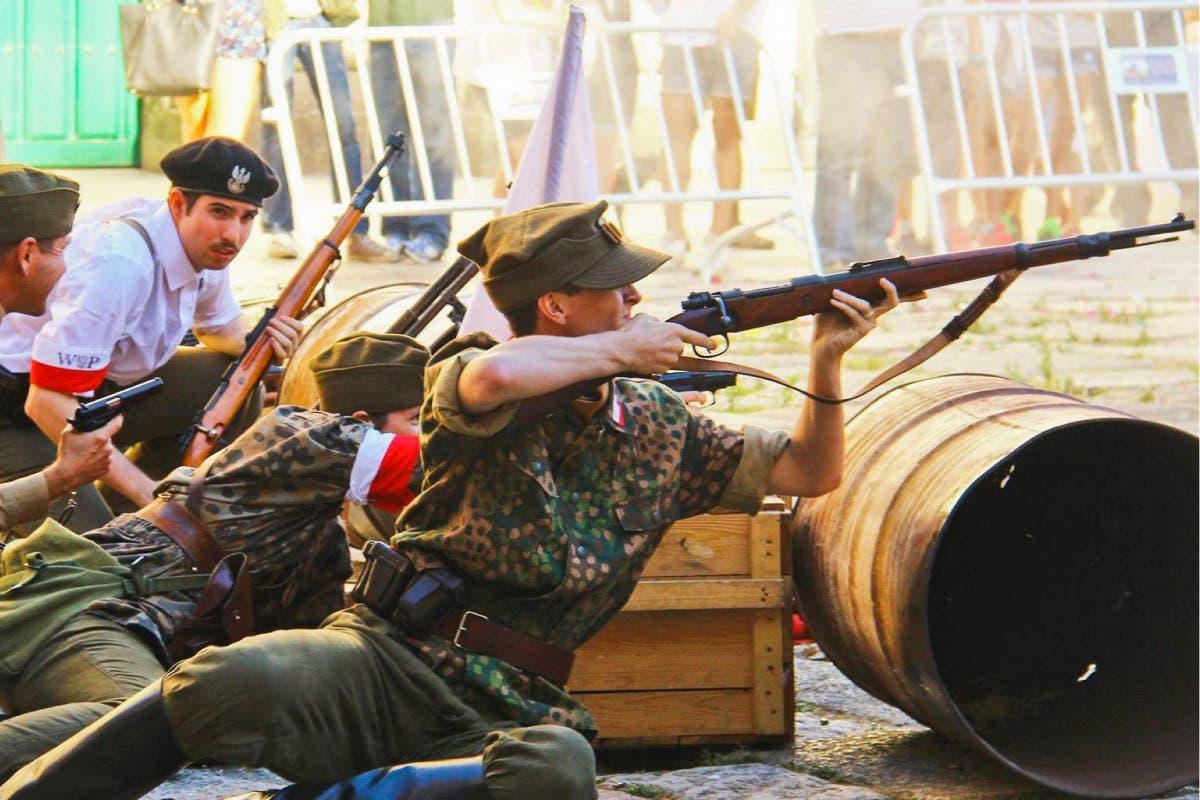 Herido un actor en Torrejón durante la recreación de una batalla histórica