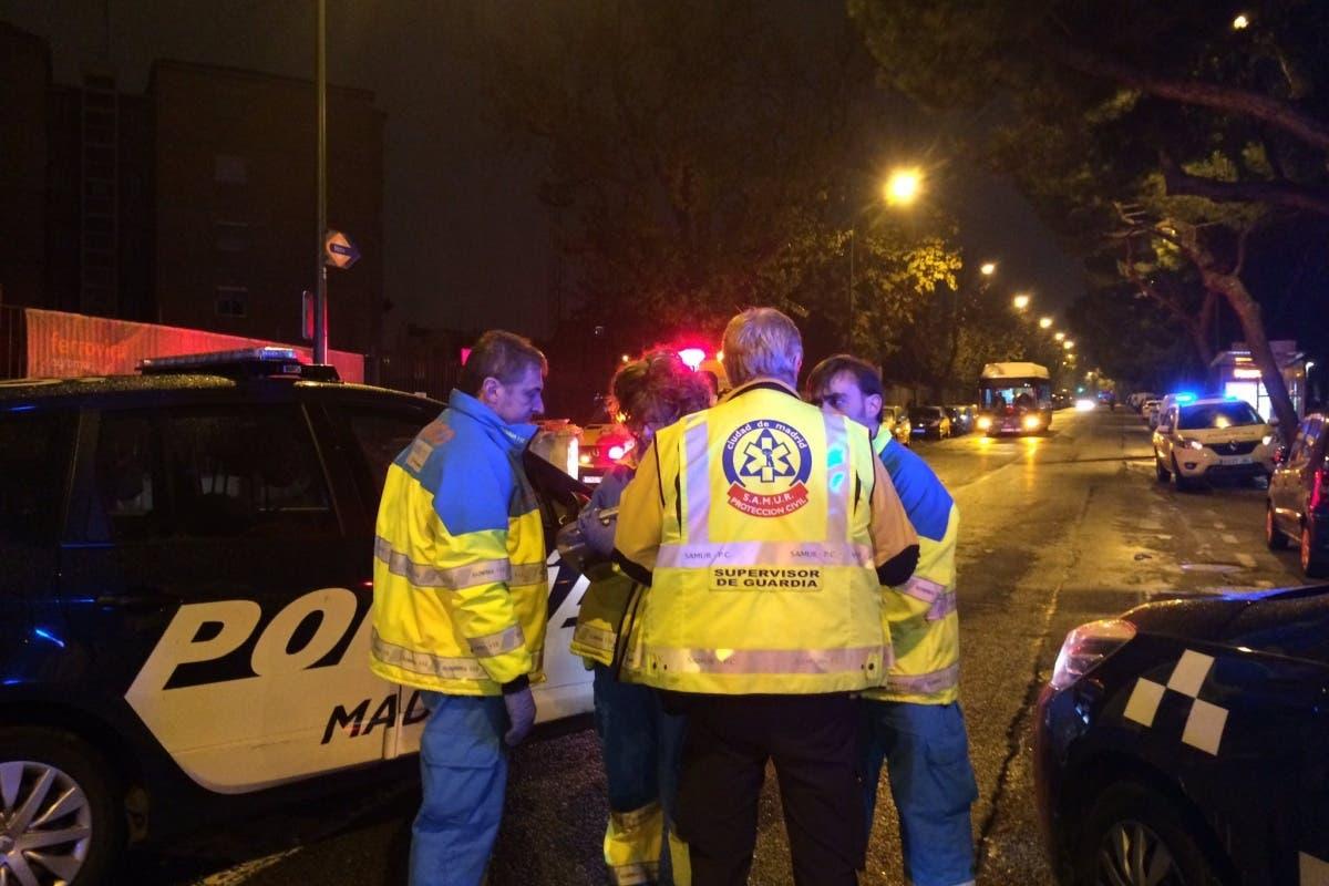 Muere un hombre tras ser atropellado en Madrid