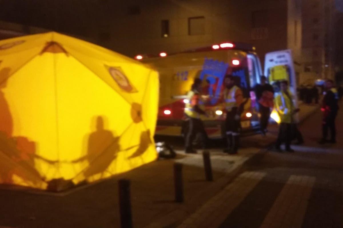 Un incendio en Madrid obliga a 32 vecinos a pasar la noche fuera de sus casas