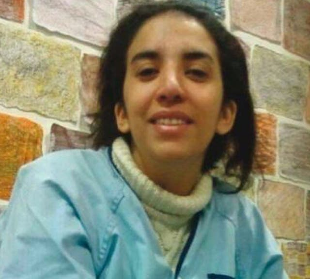 La joven Nadia desaparecida en Vallecas y encontrada sana y salva.