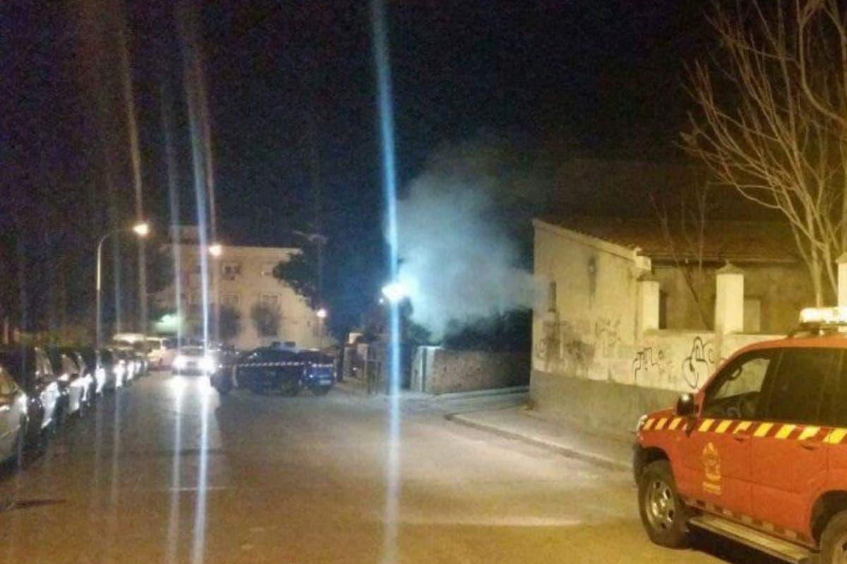 Un hombre ebrio provoca un incendio en una vivienda de Velilla de San Antonio