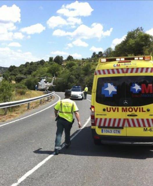 Luto en Daganzo y Valdeaveruelo por la muerte de dos jóvenes en un accidente de moto en Ribatejada