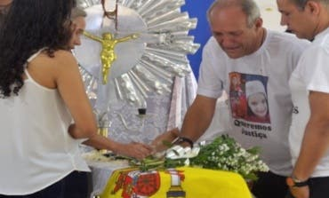 La familia asesinada en Pioz recibe el último adiós en Brasil