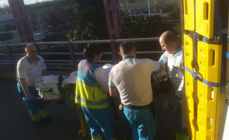 Grave tras ser electrocutado cuando intentaba robar cable en Fuenlabrada