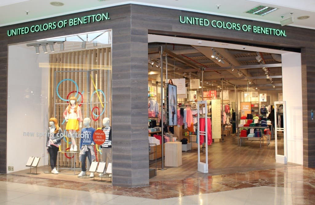 Tienda Benetton en Parque Corredor.