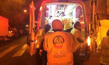 Un hombre grave tras ser atropellado por un camión en Madrid