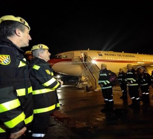 56 militares de la UME parten de Torrejón rumbo a Chile para colaborar en los incendios