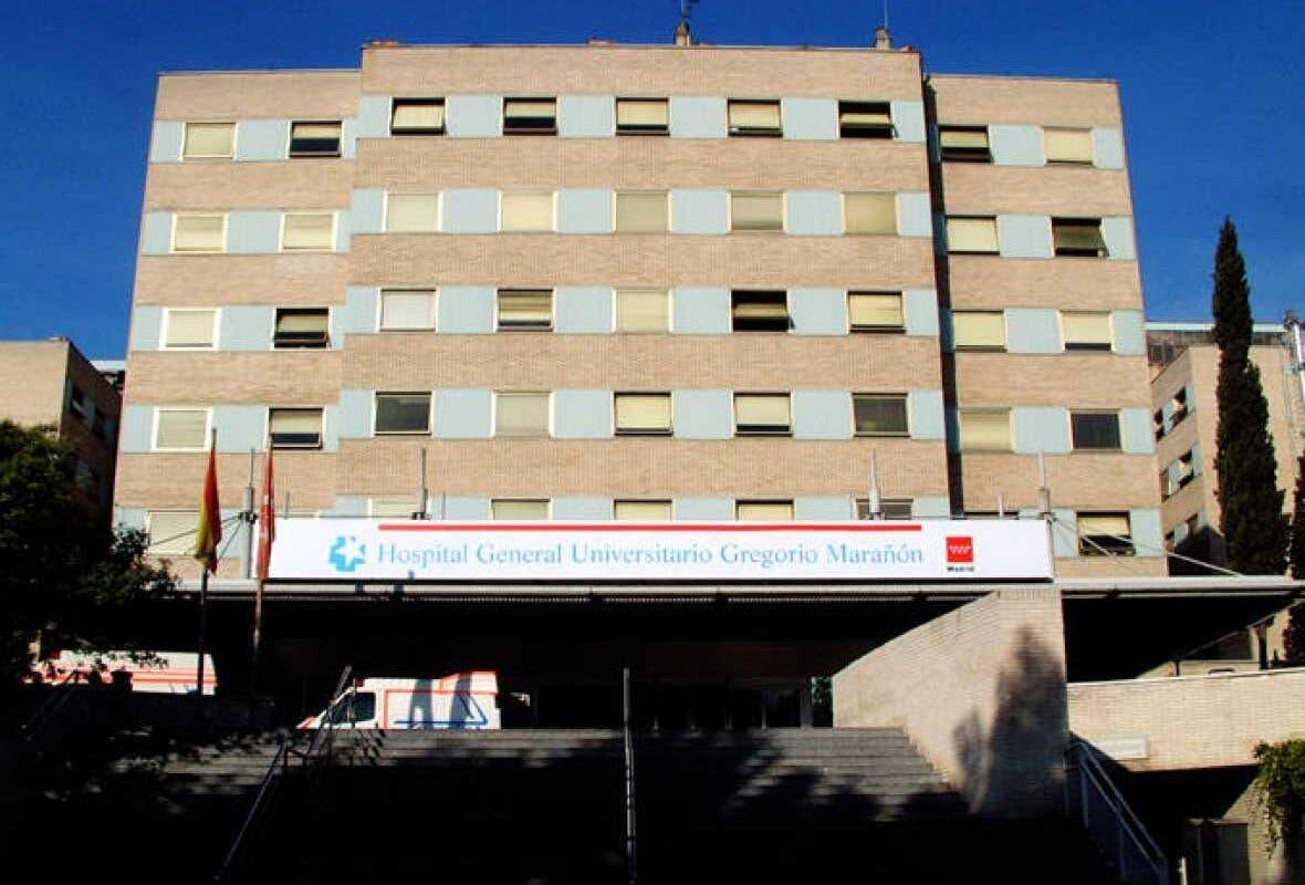 Se desprende parte del falso techo del área de Oncología del Gregorio Marañón