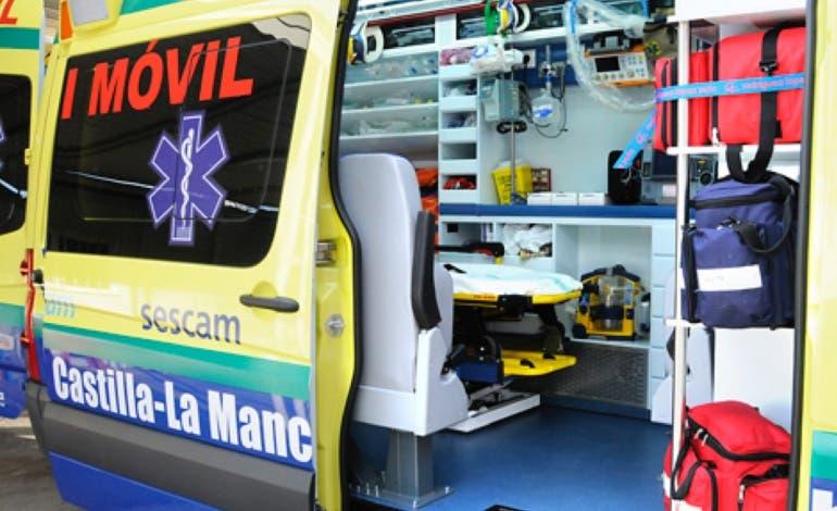 Muere un conductor tras chocar contra un camión en Yebes