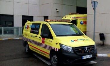 Herido un hombre de 50 años tras caerse de un tejado en Arganda