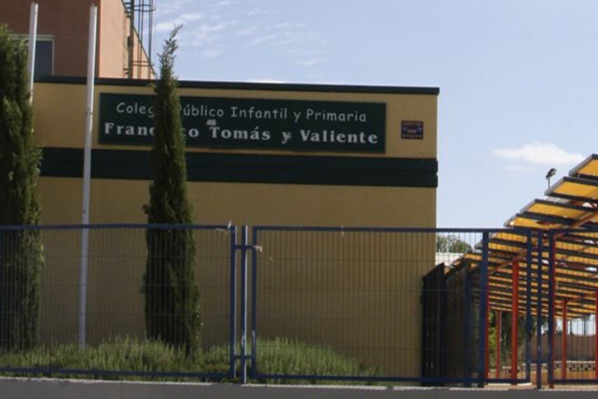 Un colegio de Velilla pide a los padres que lleven calefactores
